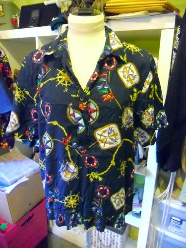 nautical blouse - before