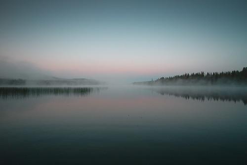 Sunrise, Lac Le Jeune