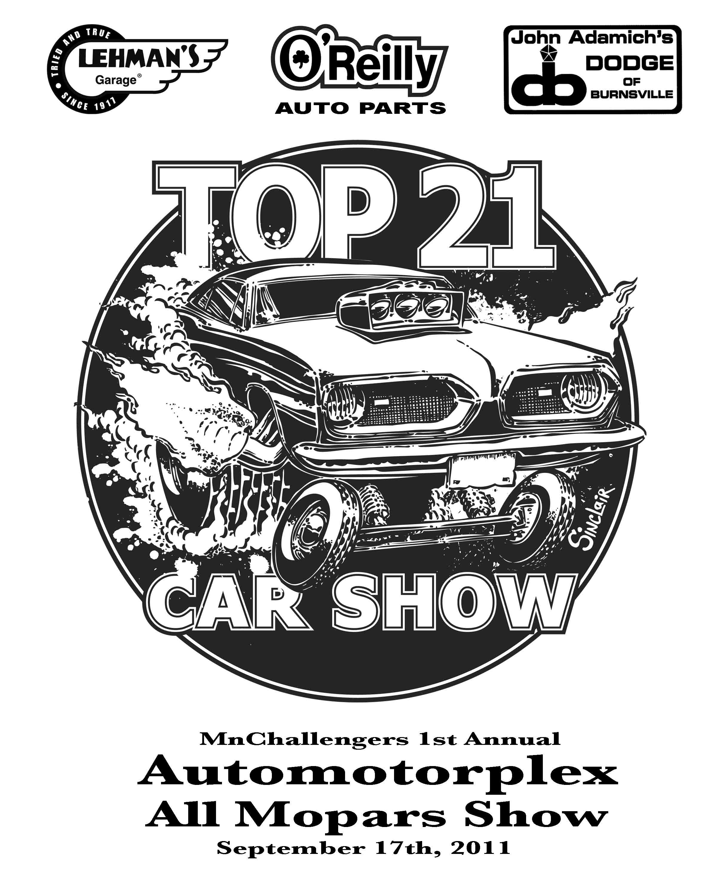 All Mopars At The Automotorplex Sept 17th