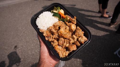 2011 Cherry Blossom Festival, Day 2: The Great Boba Truck's Buttermilk Popcorn Chicken