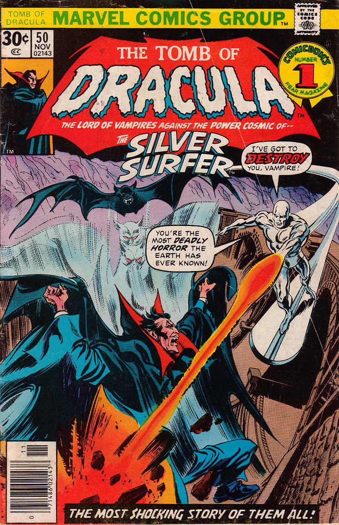 Dracula vs Silver Surfer