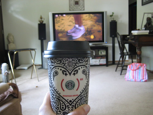 coffee and CBS Sunday Morning