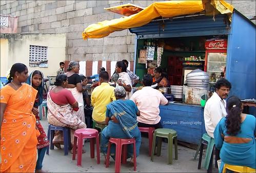 Morning breakfast - Street side shop