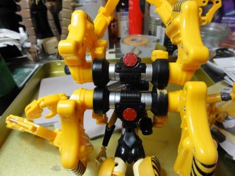 武装神姫 グラップラップ 改造