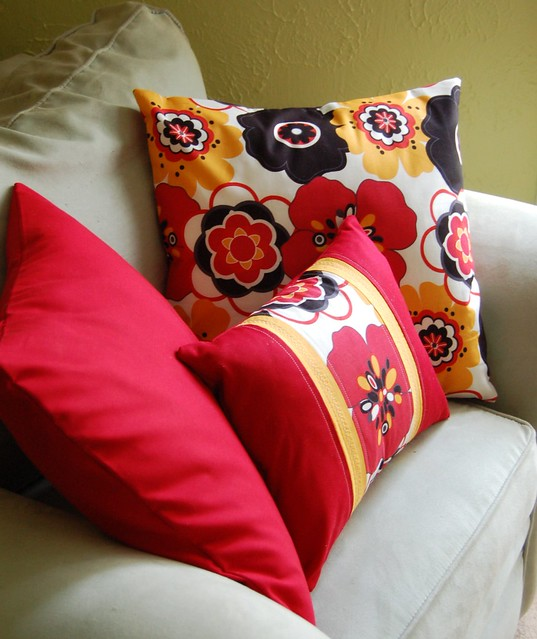 Sewing Lesson Pillows