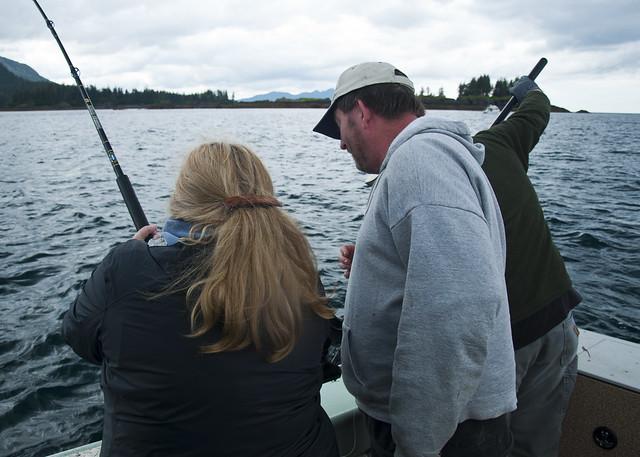 Sandi Fishing