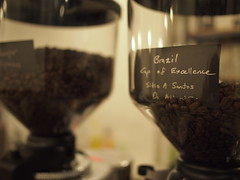 Brazil Cup Of Excellence beans, Smitten Coffee & Tea Bar