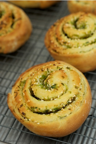 Scallion Bread 3