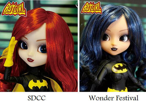 Batgirl Pullip Comparison