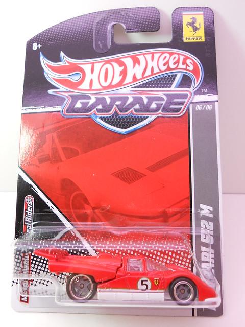 hot wheels garage ferrari 512 M (1)