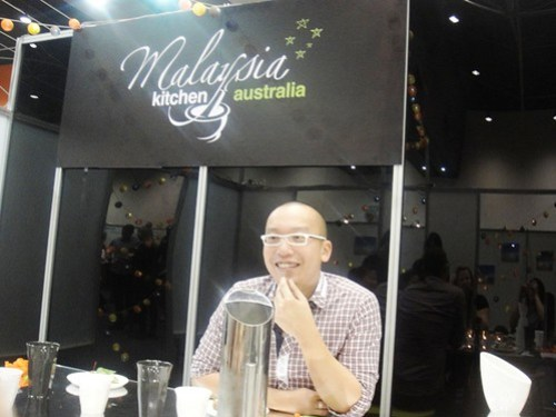 Dining with Alvin Quah