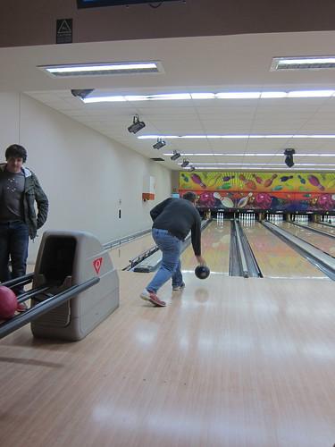 Adam bowling