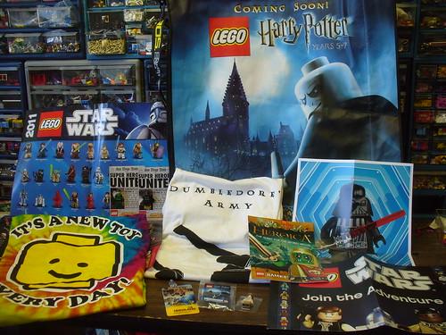 Comic Con LEGO Swag