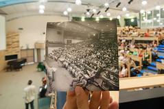 CERN Auditorium 1975 & 2011