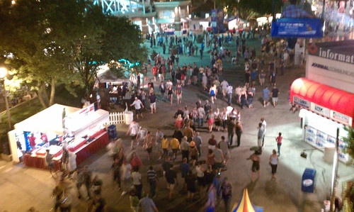 Summerfest From Above
