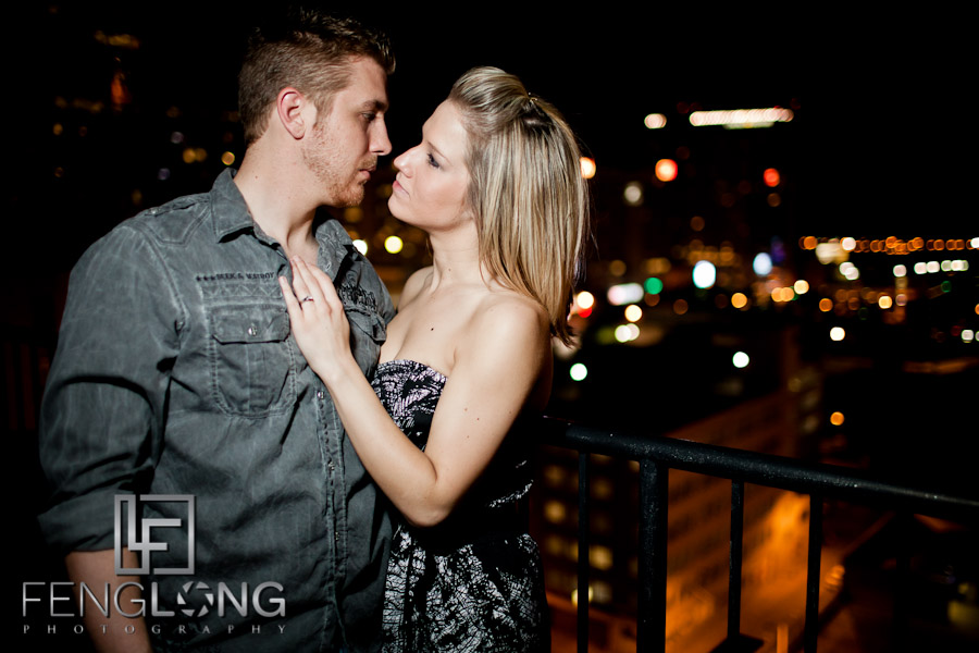 Rebekah + Lee Engaged | Downtown Atlanta Urban Session | Atlanta Wedding Photographer