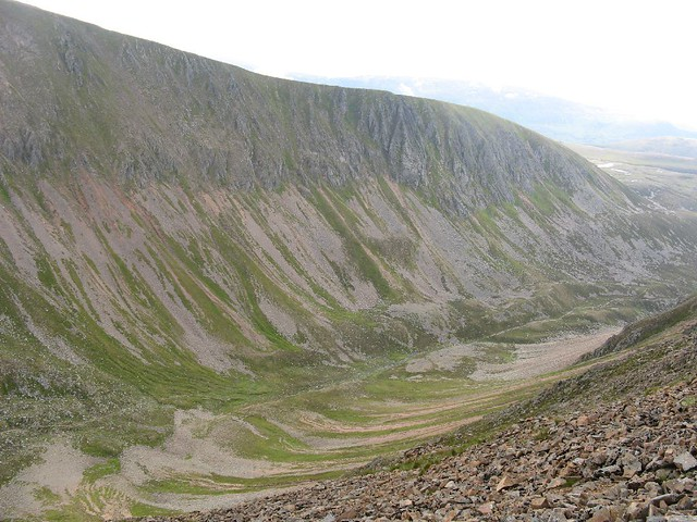 Lairig Ghru - looking north
