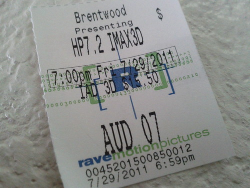Last night's movie