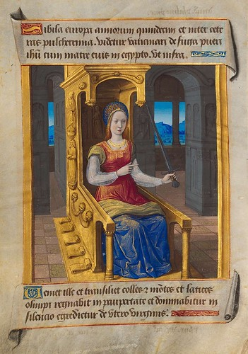 005-Sibila Europaea-Sibylla Prophetae et de Cristo Salvatore vaticinantes-1490- BSB Cod. icon. 414-Münchener DigitalisierungsZentrum