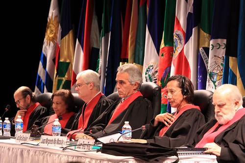 Juízes e juízas da Corte Interamericana de Direitos Humanos