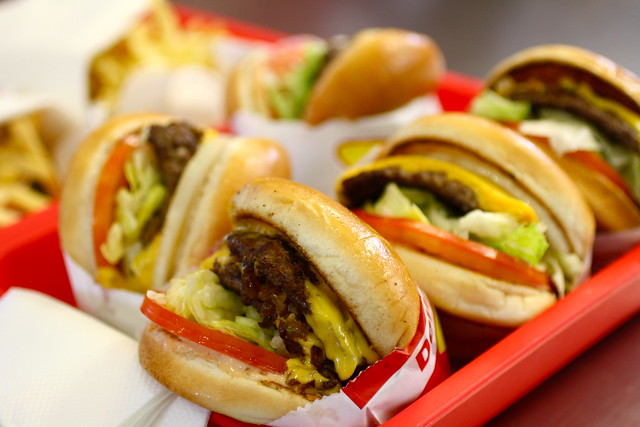 in & out burgers, los angeles