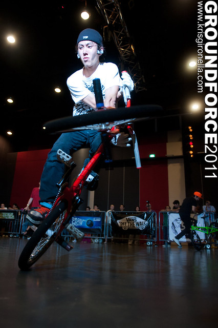 Takahiro Ikeda - Groundforce 2011 Pro-Class 4th placer (Japan)