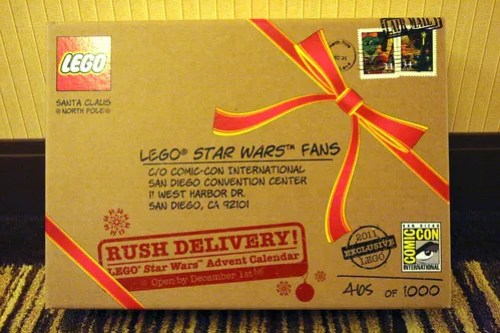 SDCC Exclusive 7958 LEGO Star Wars Advent Calendar - Packaging