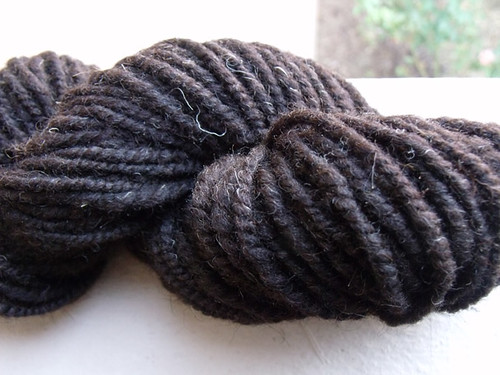 Brown Shetland Handspun