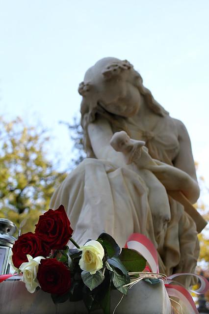 Chopin's grave - Pere Lachaise Cemetery, Paris