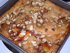 cobbler-cake baked