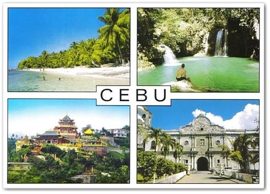 Cebu postcard