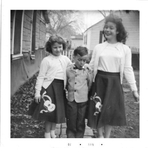 bonnie, mike, carol 1958