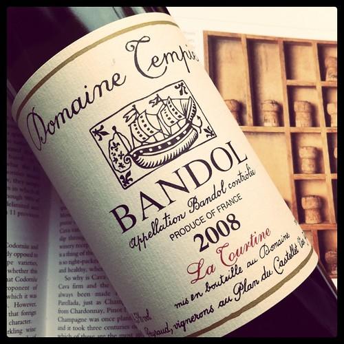 Bandol La Tourtine 2008, Domaine Tempier