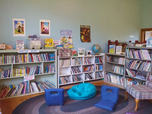 childrens section