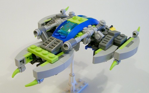 Alien Conquest Fighter 3/4 view