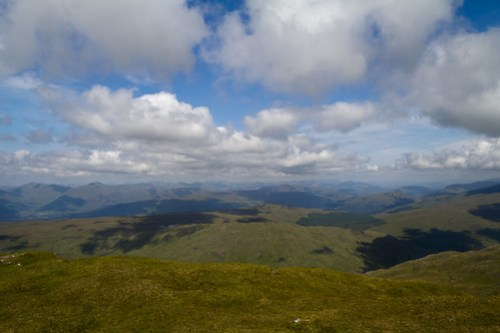 View from Beinn Bhuidhe