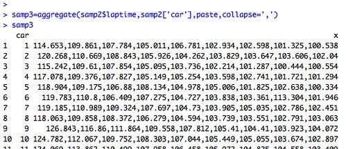 Combining common column value data elements