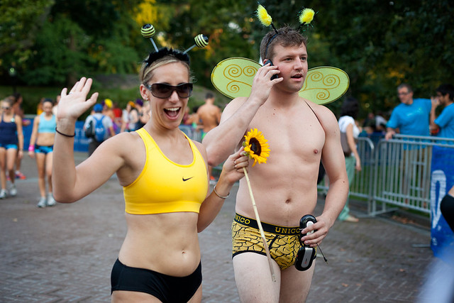 nyc triathlon jamaica underwear run 2011 2012