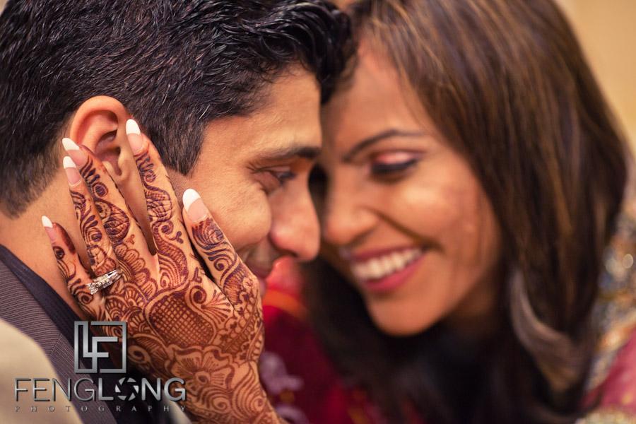 Shamz & Sana's Wedding Day 2 | Bride with Henna | Hyatt Place Atlanta Airport South | Atlanta Indian Photographer