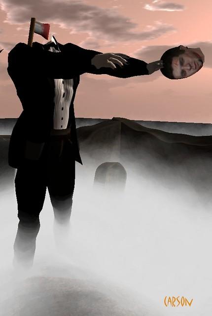 Evaki - Severed Head  Tuxedo