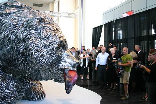 Bear at EPCOR Tower