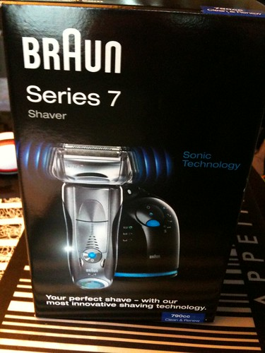 Braun Series 7 - boîte