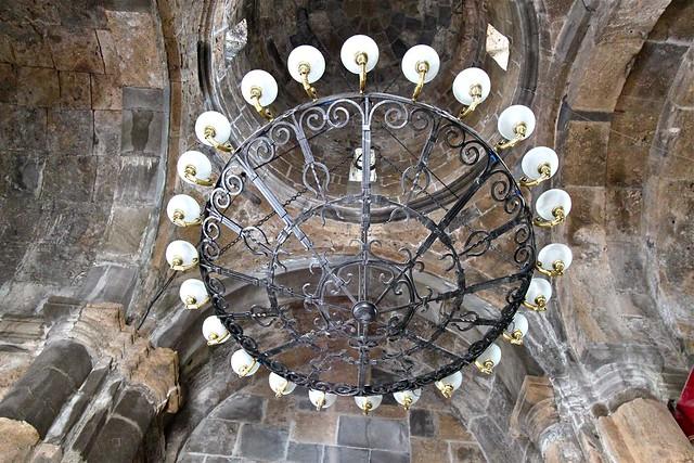 Intérieur du monastère de Haghartsin, Dilidjan, Arménie