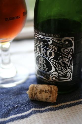 Faro Lambic Beer
