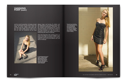 Urban Noir Magazine, Issue 1 - Pgs. 11 & 12