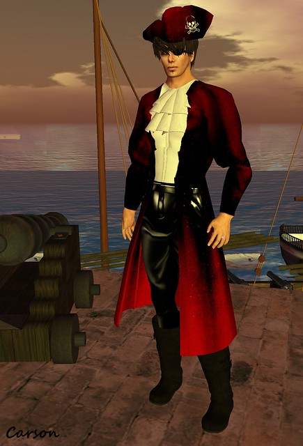 CERO STYLE  - Skull Hunt Pirate Outfit