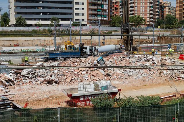 Restos de la antigua subestación eléctrica - 25-07-11
