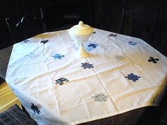 Puzzle Tablecloth