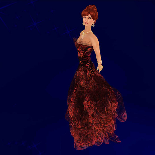 Relay for Life Gown - Sea Star by Paris Metro