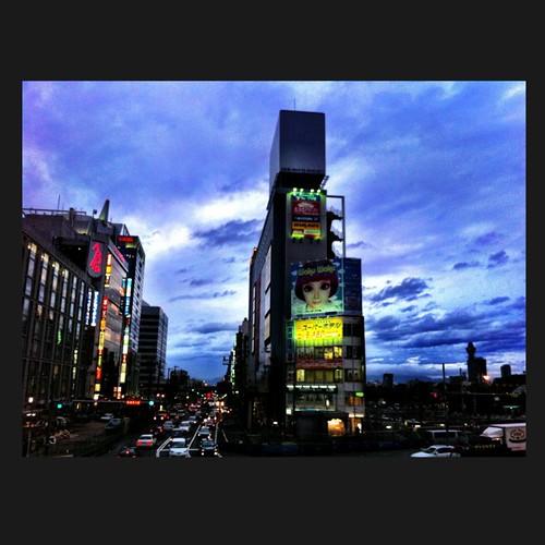 台風がくる前に! #sunset #iphonography #instagram